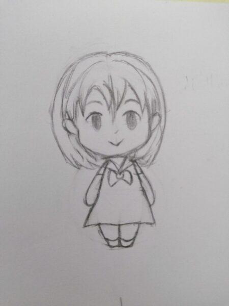 Cách vẽ Chibi đơn giản