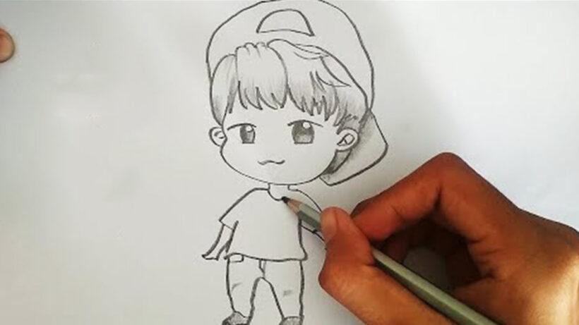 Cách vẽ Chibi nam cá tính