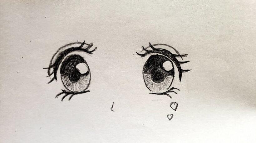 Cách vẽ đôi mắt anime