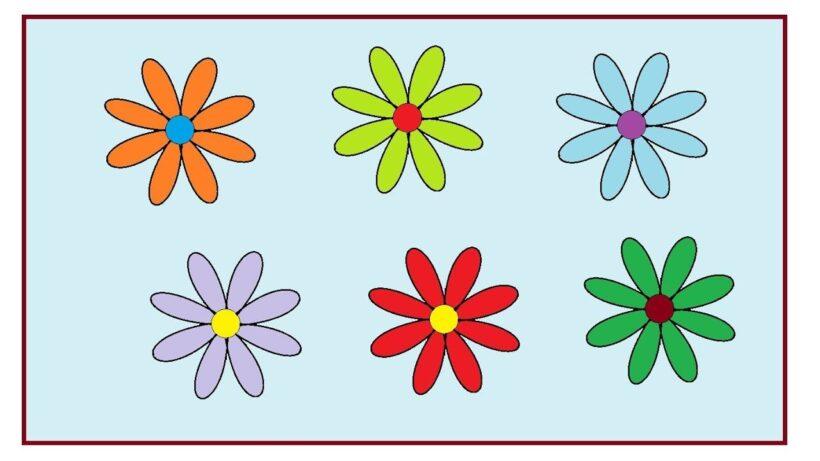 Cách vẽ những bông hoa đơn giản