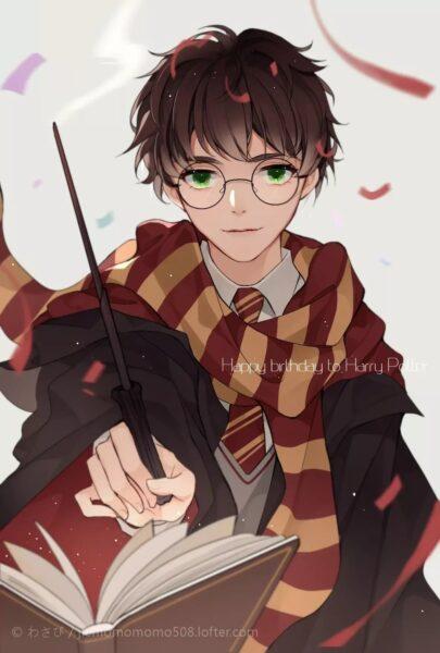 Hình ảnh anime Hary Potter