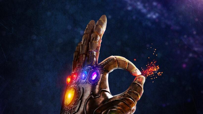 Hình ảnh bàn tay lợi hại của Thanos