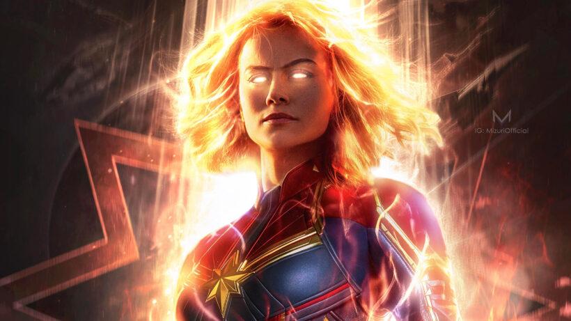 Hình ảnh Captain Marvel ngầu