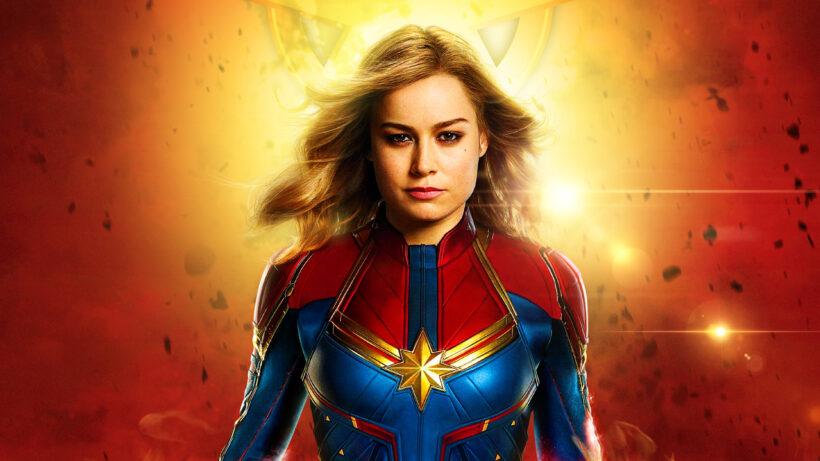 Hình ảnh Captain Marvel nữ chiến binh xinh gái