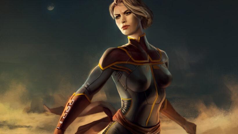 Hình ảnh Captain Marvel trong phim