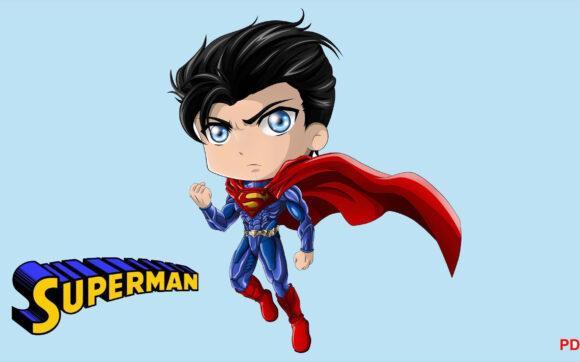 Hình ảnh chibi Superman đẹp, dễ thương nhất