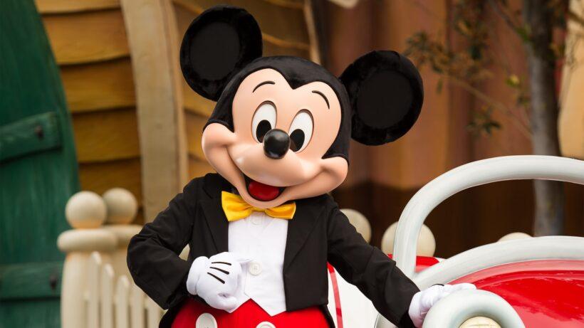 hình ảnh chuột mickey dễ thương chân thực