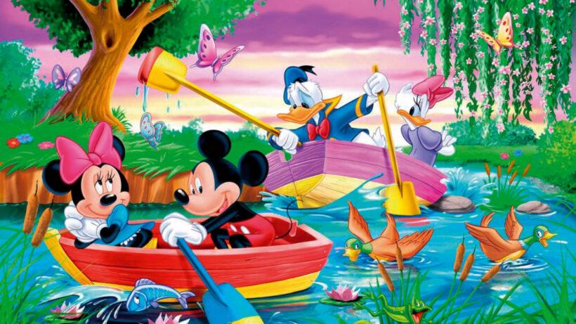 hình ảnh chuột mickey dễ thương chuẩn HD