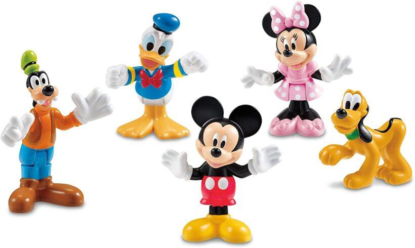 hình ảnh chuột mickey dễ thương và những người bạn