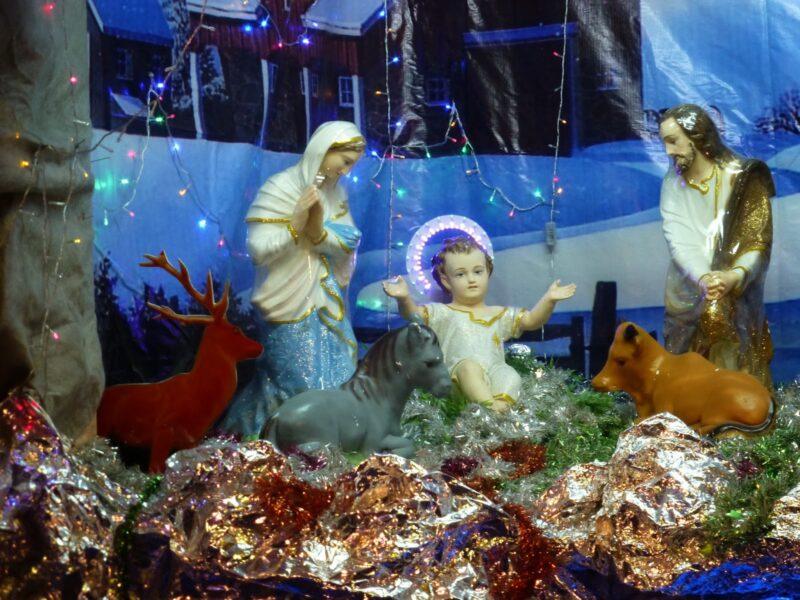 Hình ảnh cực đẹp về hang đá Giáng Sinh