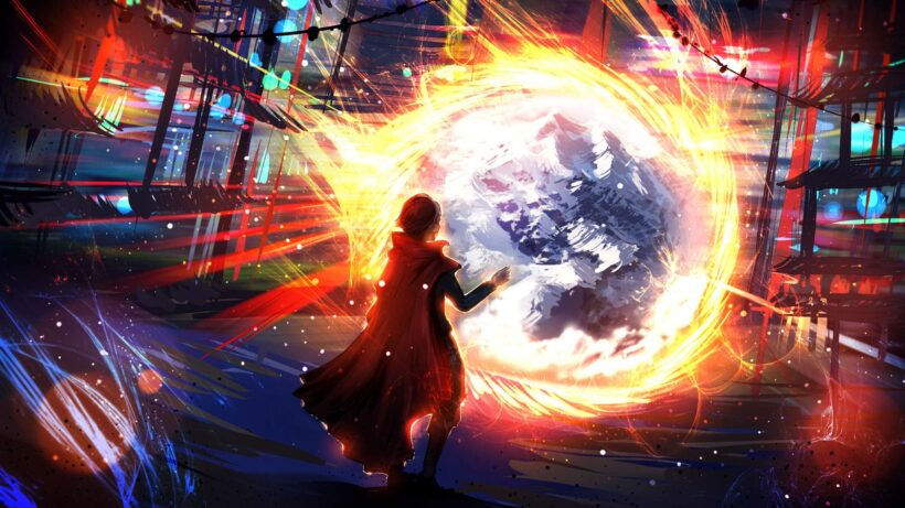 Hình ảnh Doctor Strange anime