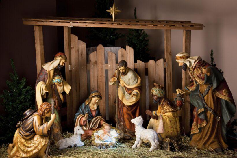 Hình ảnh hang đá Giáng Sinh ấn tượng