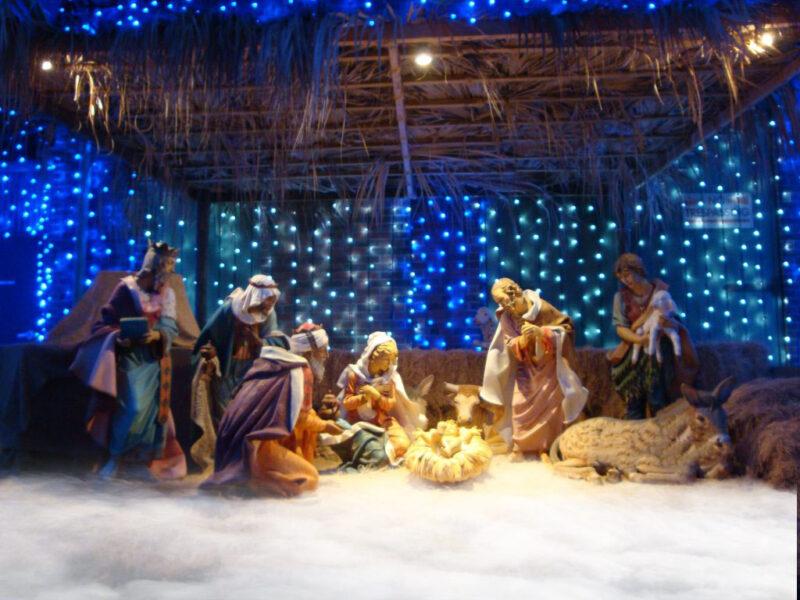 Hình ảnh hang đá Giáng Sinh siêu đẹp