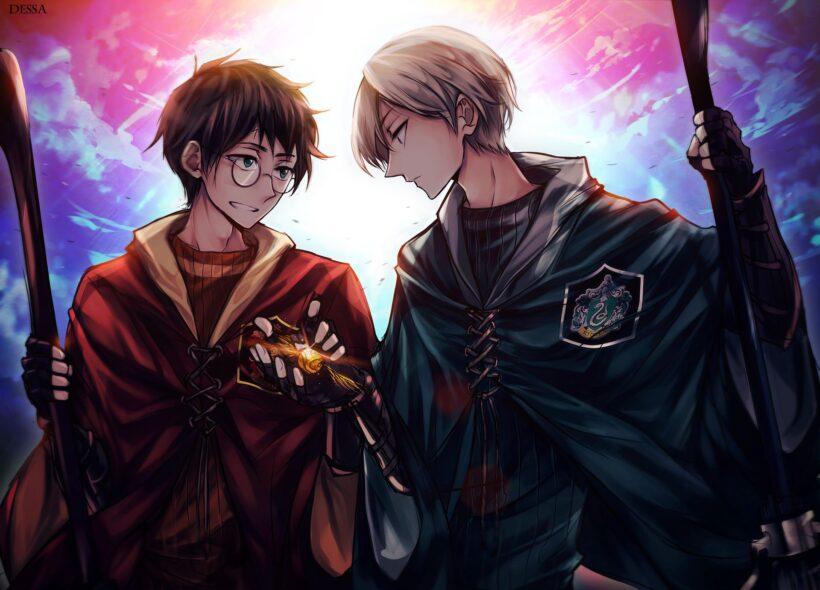 Hình ảnh Hary Potter anime
