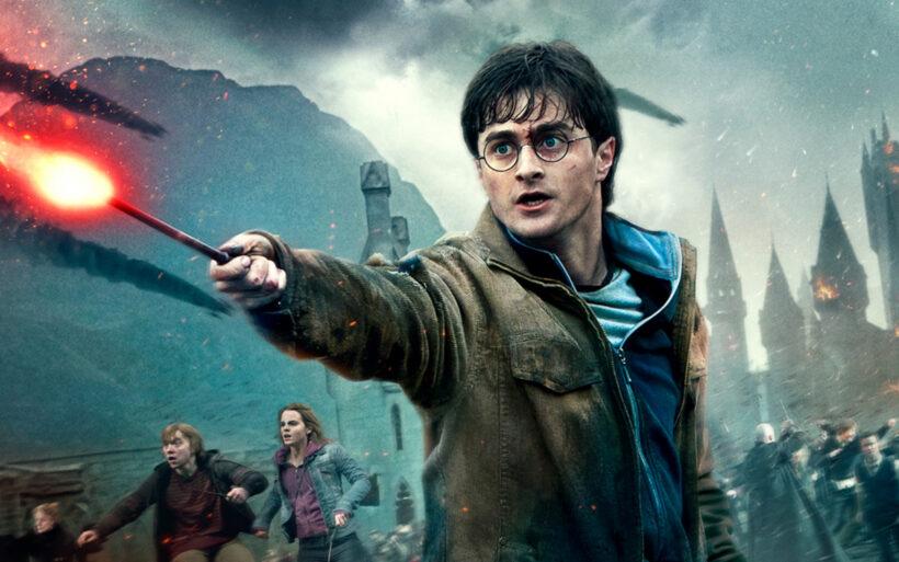 Hình ảnh Hary Potter chiến đấu