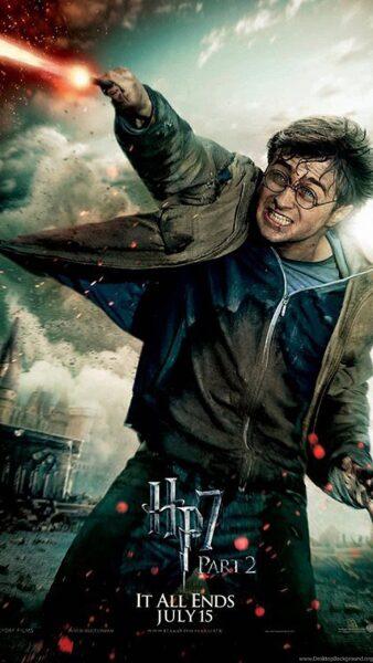Hình ảnh Hary Potter chiến đấu cực ngầu