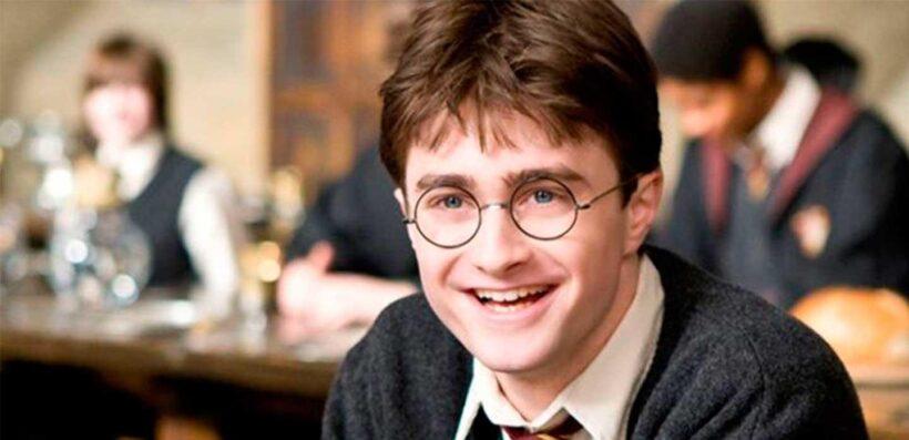 Hình ảnh Hary Potter cười