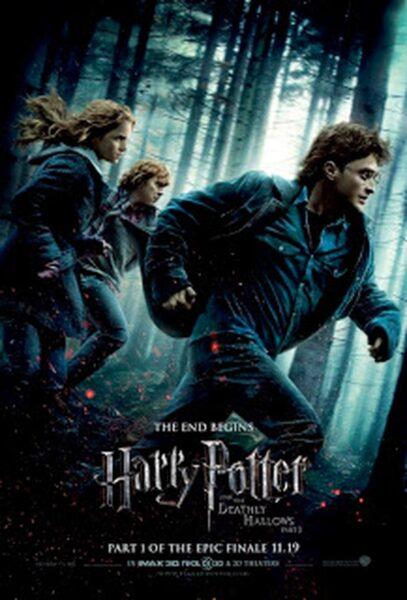 Hình ảnh Hary Potter đang chạy