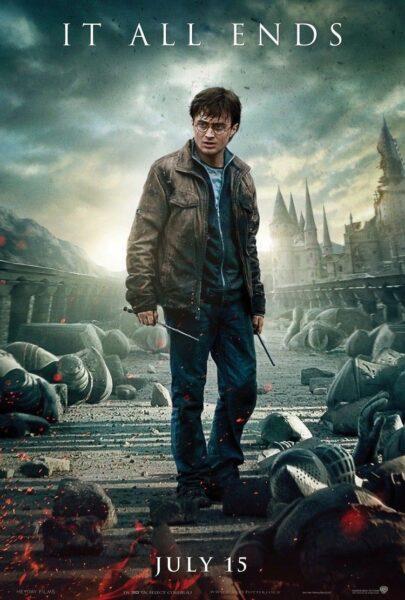 Hình ảnh Hary Potter sau cuộc chiến