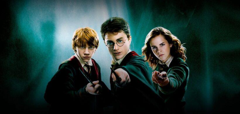 Hình ảnh Hary Potter và hai người bạn