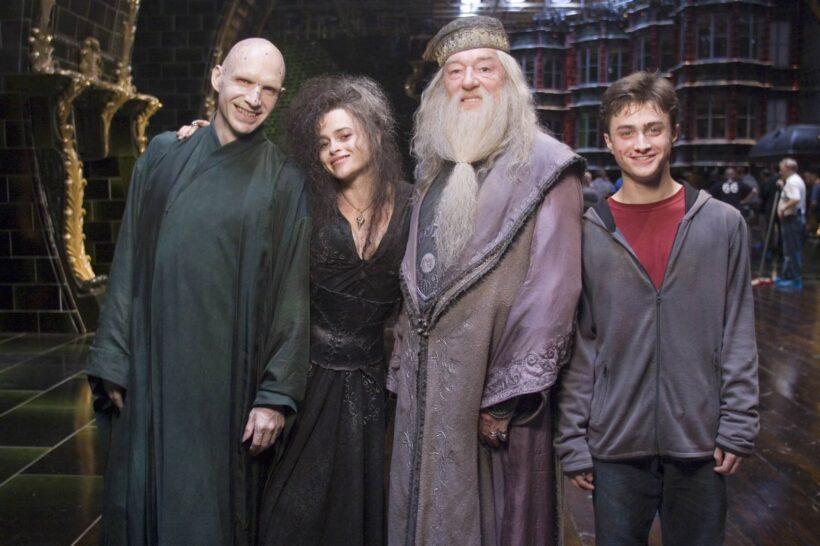 Hình ảnh hậu trường phim Hary Potter