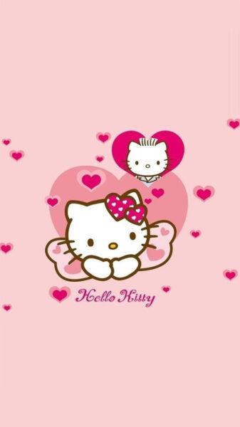 Hình ảnh Hello Kitty cute, ngộ nghĩnh