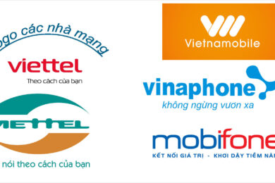 Hình ảnh Logo Viettel, Mobifone, Vinaphone, Vietnamobile