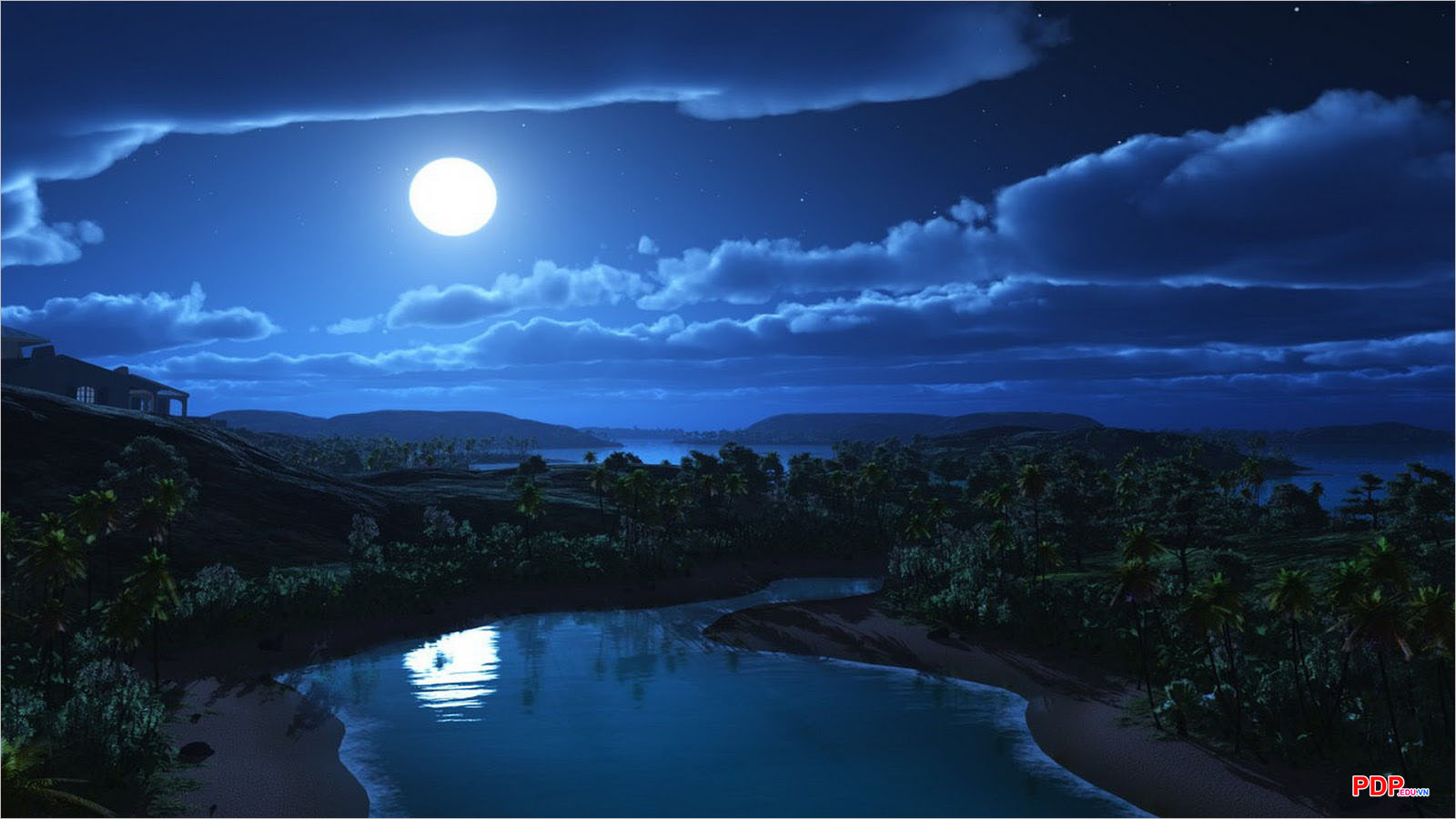 Hình ảnh mặt trăng đẹp, buồn, độc đáo nhất