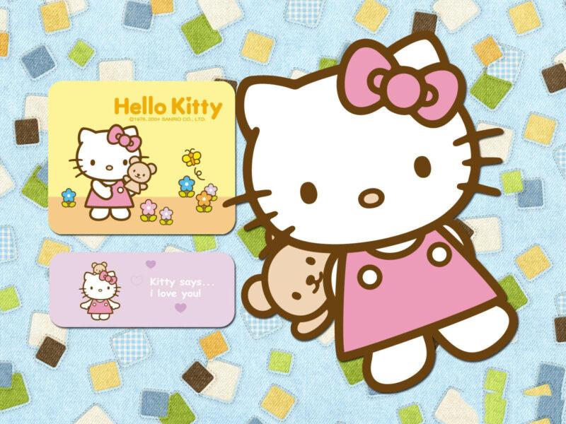 Hình ảnh mèo con Hello Kitty
