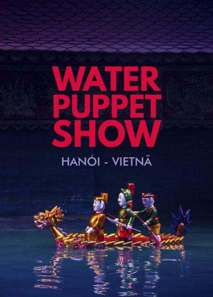 hình ảnh múa rối nước tại Hà Nội