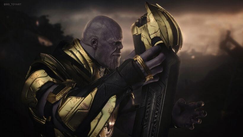 Hình ảnh nền Thanos đẹp cho máy tính
