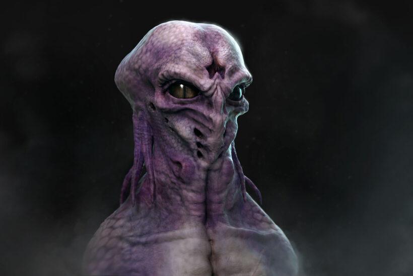 Hình ảnh người ngoài hành tinh Alien kinh dị