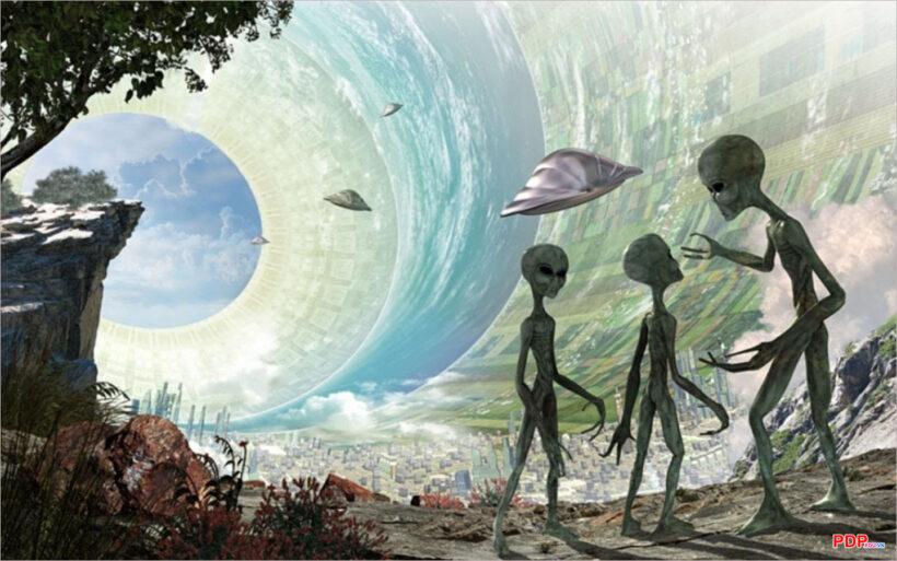 Hình ảnh người ngoài hành tinh đẹp, độc đáo nhất