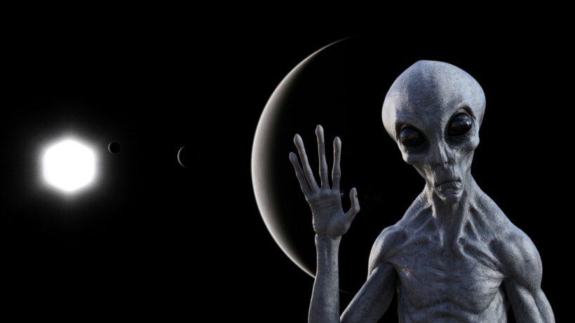 Hình ảnh người ngoài hành tinh ngoài vũ trụ
