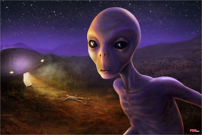 Hình ảnh người ngoài hành tinh siêu đẹp