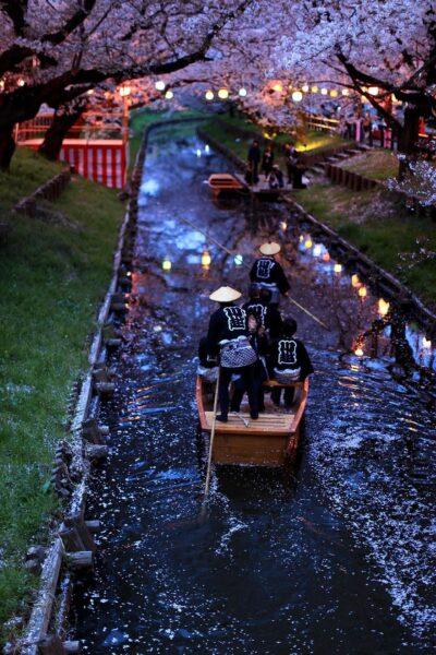 Hình ảnh Nhật Bản ban đêm tuyệt đẹp