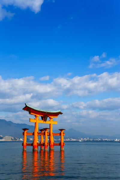 Hình ảnh Nhật Bản - đền Itsukushima