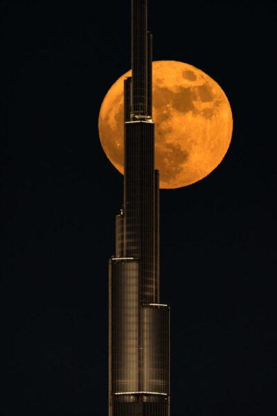 hình ảnh siêu trăng ấn tượng