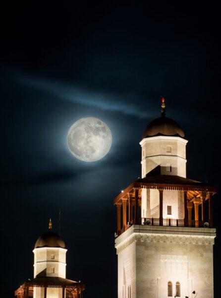 hình ảnh siêu trăng cho di động