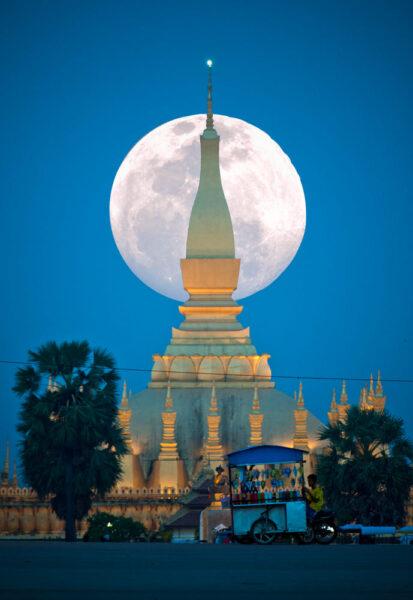 hình ảnh siêu trăng đẹp và ấn tượng nhất