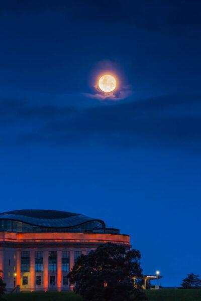 hình ảnh siêu trăng hiếm thấy