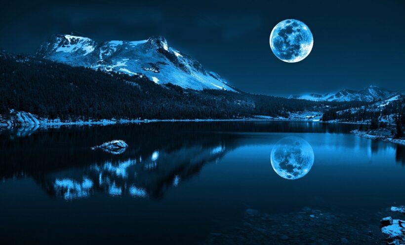 Hình ảnh Siêu Trăng xanh