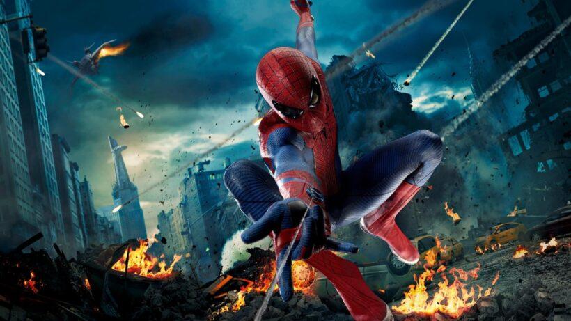 Hình ảnh Spider Man người nhện chiến đấu