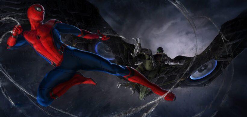 Hình ảnh Spider Man người nhện chiến đấu cực ngầu