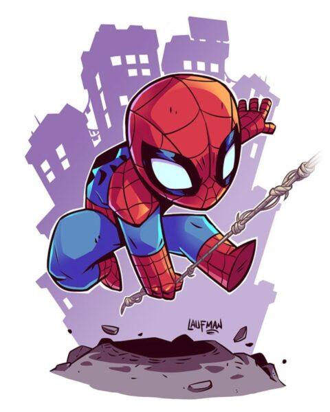 Hình ảnh Spider Man Người Nhện cute