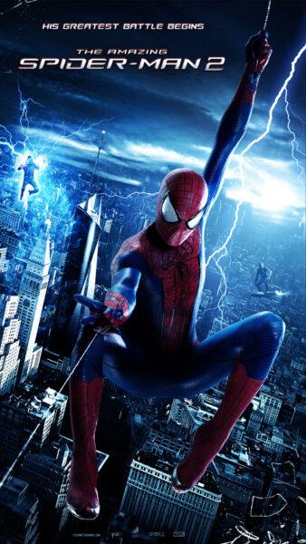 Hình ảnh Spider Man Người Nhện đu bay đẹp