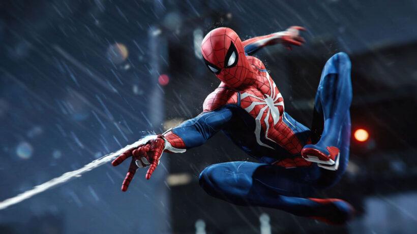 Hình ảnh Spider Man người nhện phóng tơ đẹp