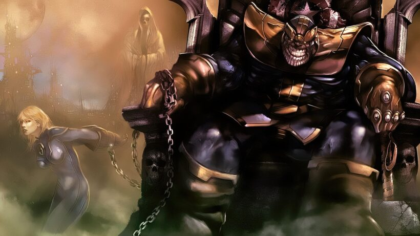Hình ảnh Thanos cực đẹp