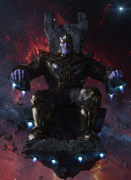 Hình ảnh Thanos cười