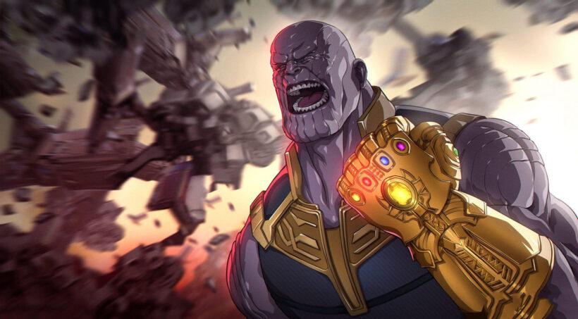 Hình ảnh Thanos đẹp, mạnh mẽ